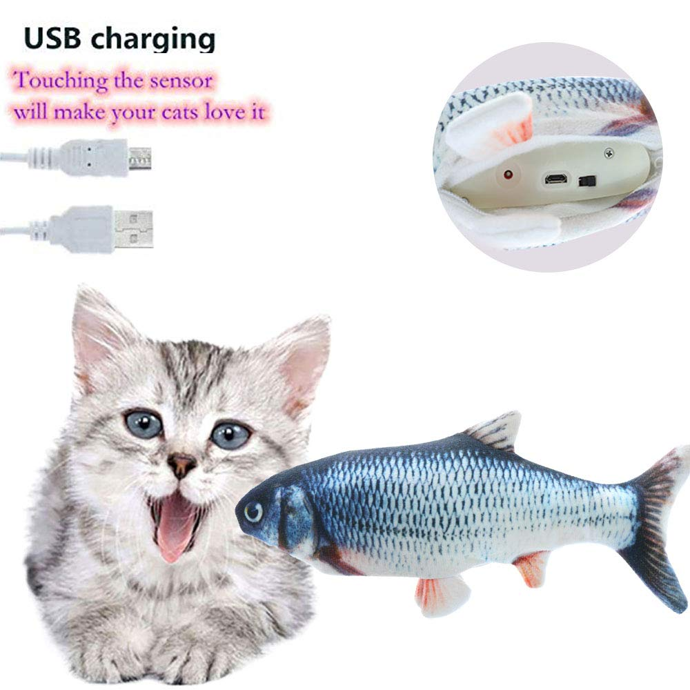 Realistic Fish Toy For Cat to Play Image