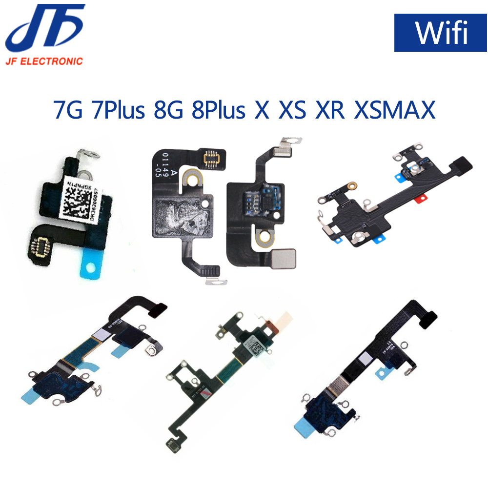 Wifi Antenna Signal Wifi Flex Cable For iPhone 7 7G 8 8G Plus X XS XR MAX Replacement Parts 50pcs/lot title=