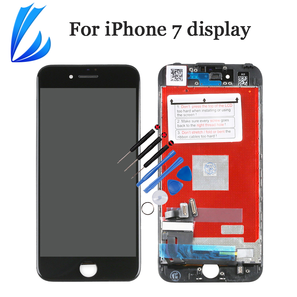 LCD Lcd-Display Mobile-Phone-Replacement Touch-Screen iPhone7 TRADER LL for 7g Pantalla title=