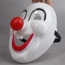 Clown-Mask Accessrose-Accessories Red Dress Horror Nose Crazed Scary Halloween Fancy