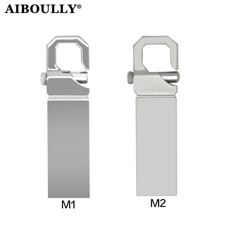 AIBOULLY Usb-Stick Pen-Drive Metal High-Speed 16GB 32GB 64GB title=