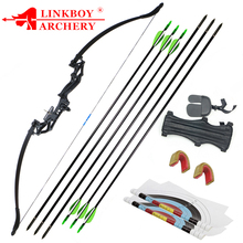 Recurve Bow 20/30/40/50lbs Professional Hunting Bow Archery Suit for Outdoor Hunting Shooting Practice Arrows Accessories 1set