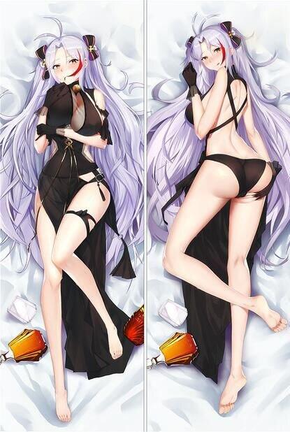 150x50cm アズールレーン Azur Lane Dakimakura Taihou Anime Girl Hugging Body Pillow Case