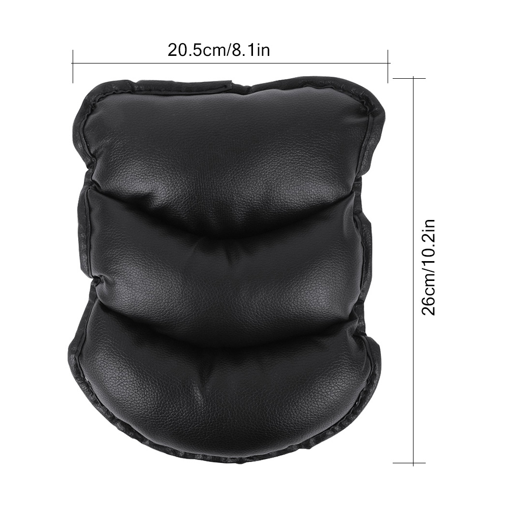 Universal Car Seat Armrests Cover Auto Vehicle Center Console Arm Rest Seat Box Pad Protective Case Soft PU Mats Cushion (3)