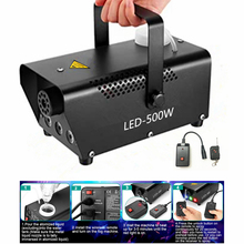 Fog-Machine Led-Lights Remote-Control Stage-Effects Dj Led Weddings Parties Wireless/wired