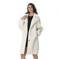 Пальто женское длинное, осень-зима