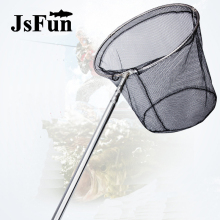Pole-Casting-Network-Trap Fishing-Tools Mesh Stainless-Steel Foldable Small FO378 Collapsible