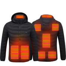 Vest USB Clothing Coat Heated-Jacket Thermal-Heating-Vest Electric Warm Tactical Winter