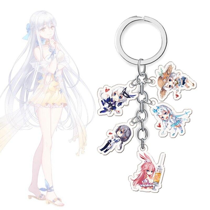 Cute Honkai Impact 3 Anime Original keychain acrylic strap/mobile phone charms