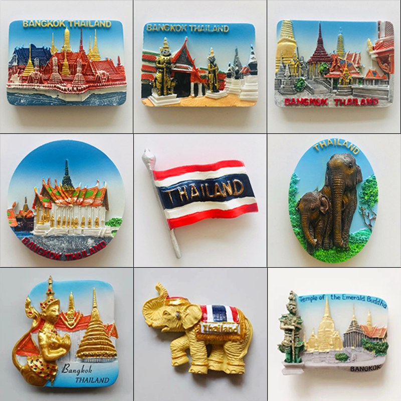 Phuket Island 3D Collector Plate with Stand Souvenir Thailand Wall Hanging