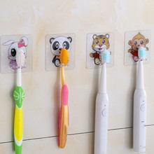 Organizer Toothbrush-Holder Storage-Rack Bathroom-Accessories Toilet Travel-Stand Panda