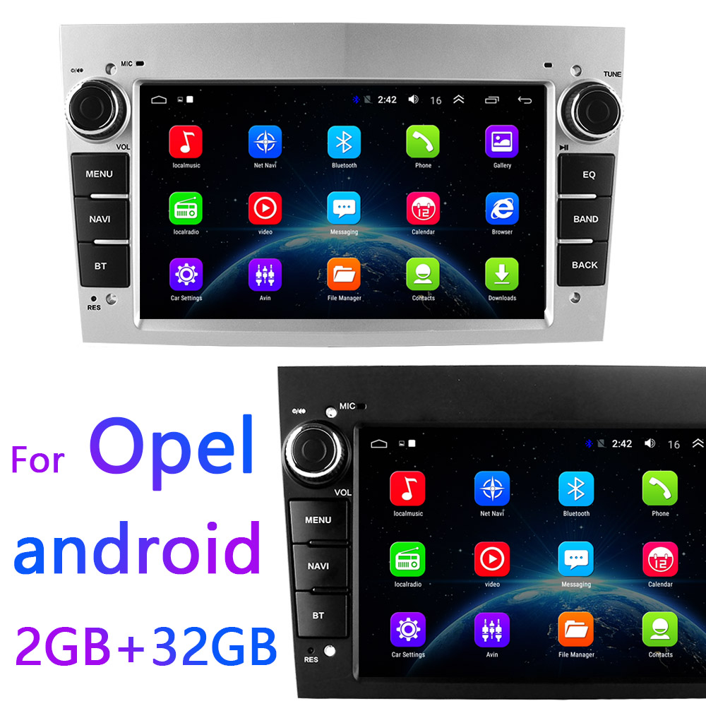 For Opel Car Android Multimedia Player 2Din Android 8.1 radio for Opel GPS for para Astra Meriva Vectra Antara Zafira Corsa