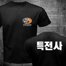 T-Shirt Men Korean-Swat Two-Sides Summer-Style Forces-Counter Casual-Tee Terrorist Tae-Kwon-Do
