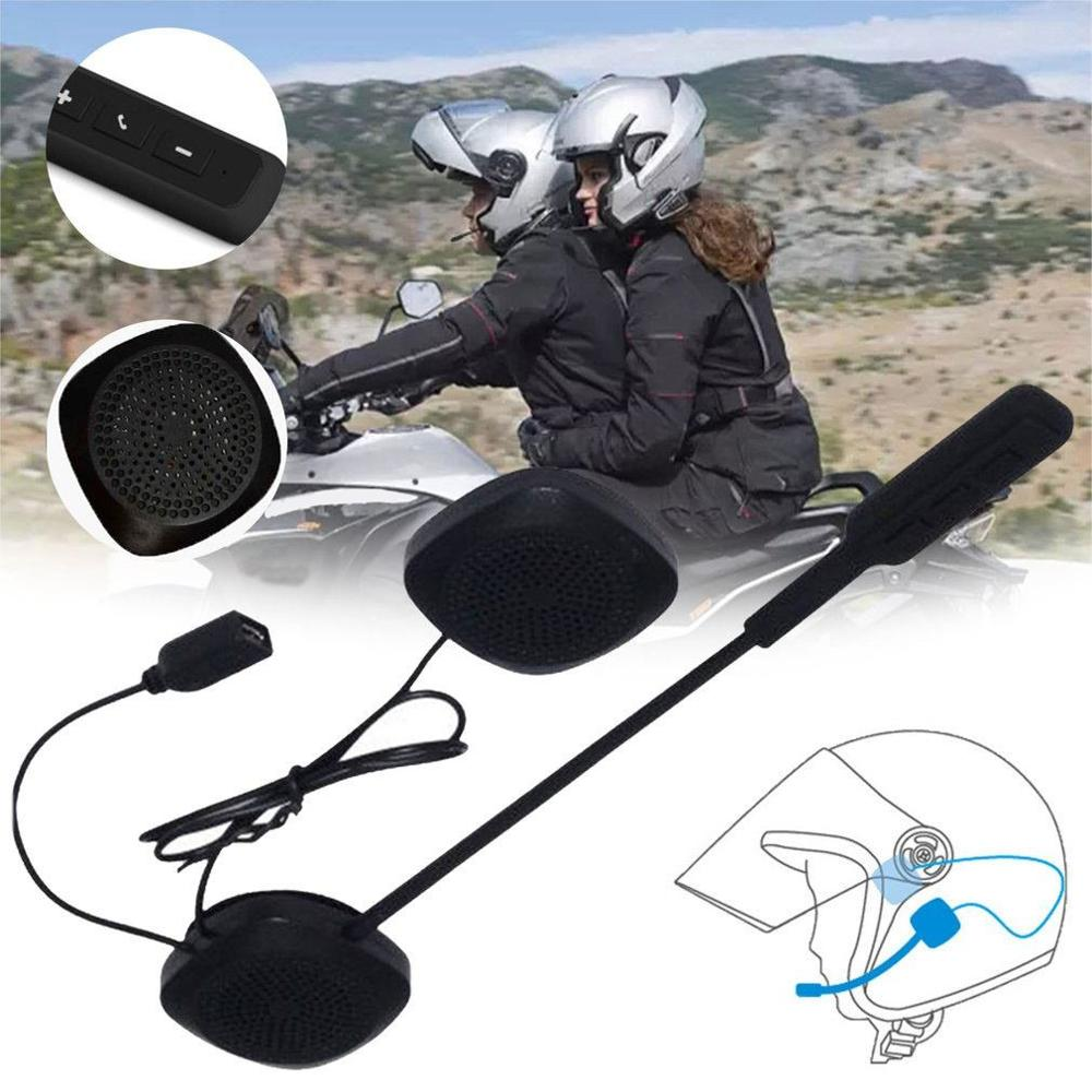 MH03 Motorcycle Helmet Headset Motorcycle Handsfree Headphone for Music GPS title=