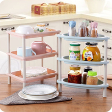 3 Layer Gap Storage Rack Bathroom Tower Assemble Plastic Shelf Space Saving Organizer Holder Kitchen Stackable Movable Home Tool