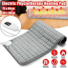 Electric-Heating-Pad Winter-Warmer Shoulder-Neck-Back for Spine Leg Pain-Relief 75x40cm/60x30cm