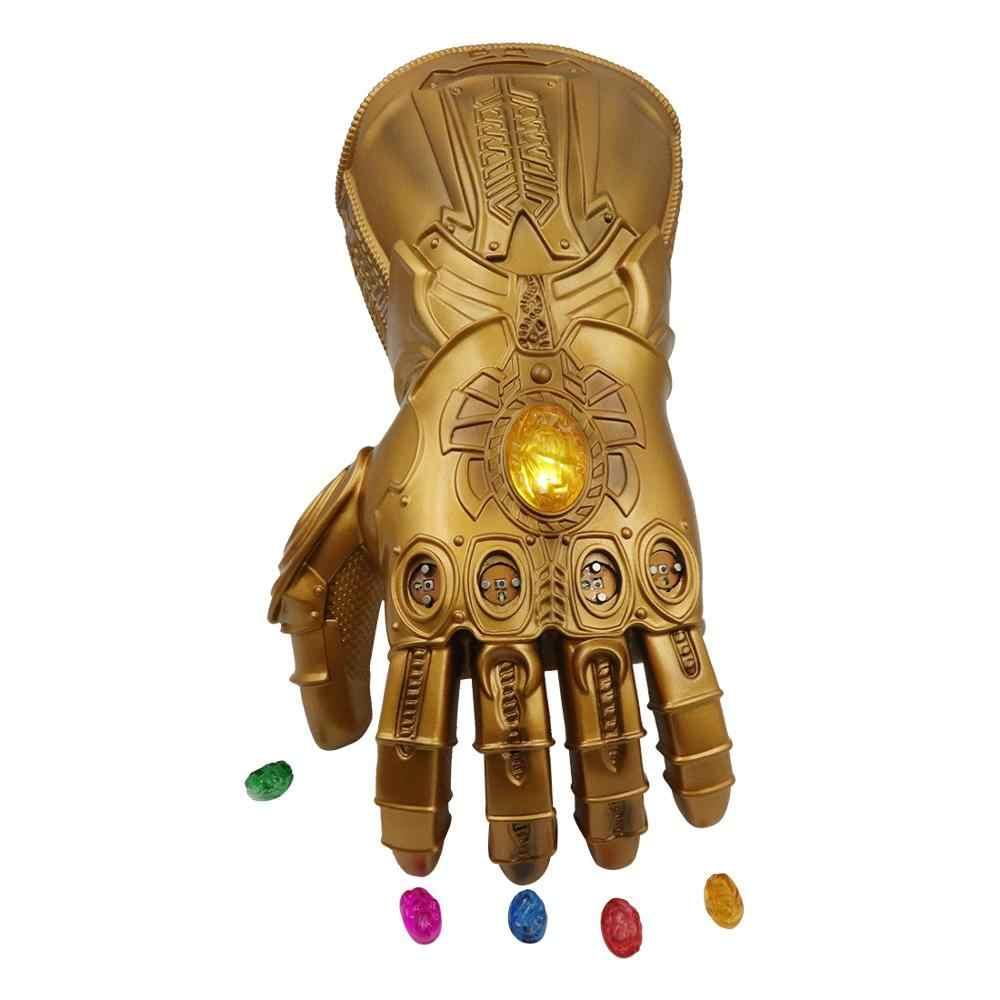 Iron Man Infinity Stones Gauntlet Gloves Thanos Avengers Endgame Prop Glove Toy