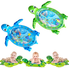 Dropshipping New Design Baby Water Play Mat Inflatable Infant Tummy Time Playmat Toddler