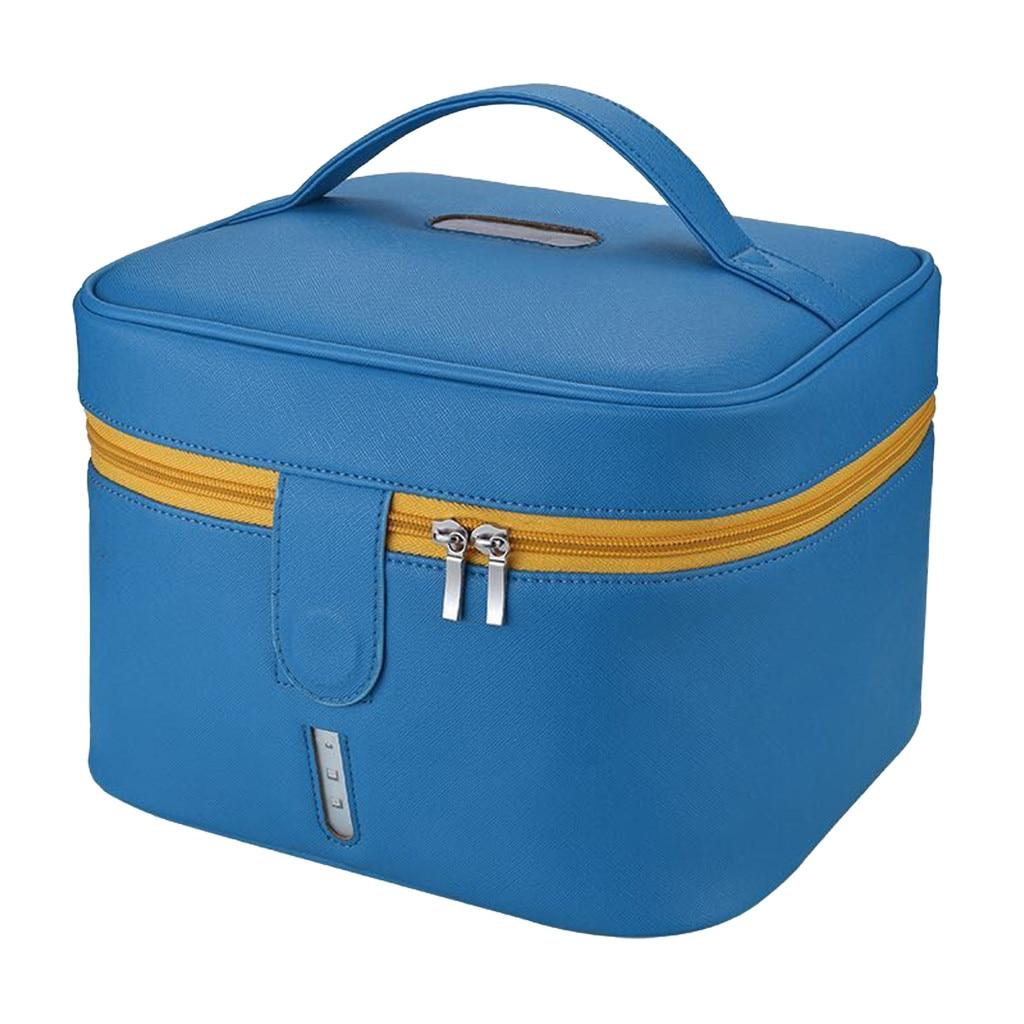 First Aid - Blue Disinfecting Box UV Sterilizer Box USB Disinfecting Bag Cleaner Disinfection Cabinet Sterilization Box Storage Box