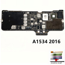 Logic-Board A1534 Macbook Motherboard-System-Board for 12-820-00244-A 256GB 512GB SSD