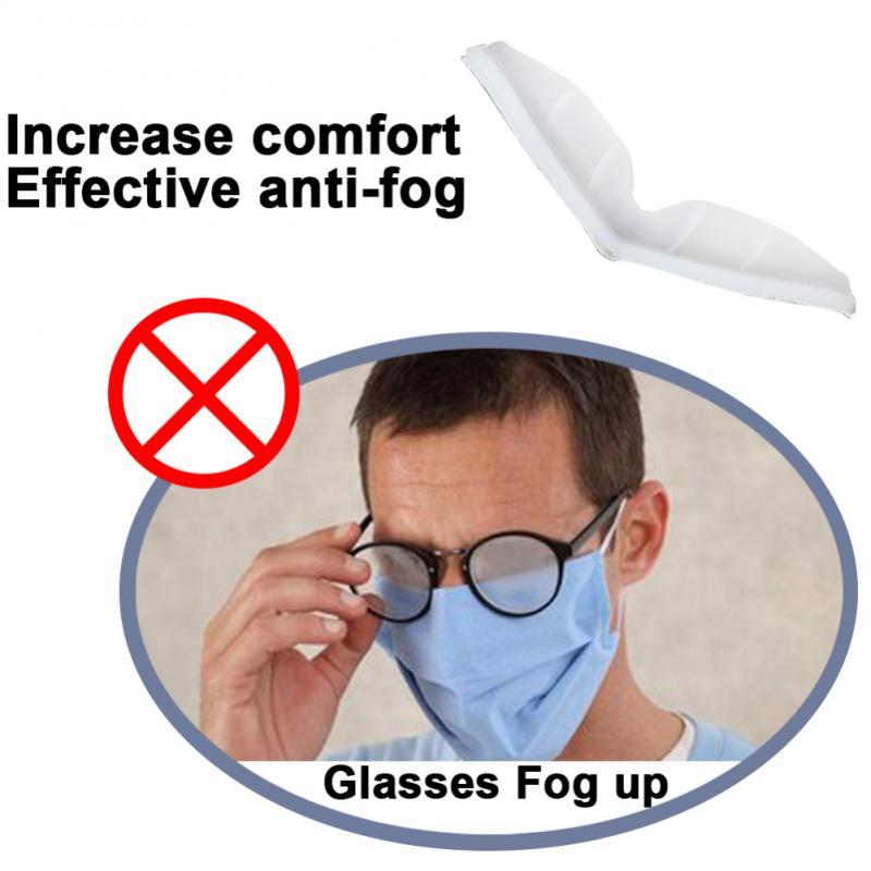 Anti-Fog-Nasenbr/ücke Anti-Fog-TPR-Nasenbr/ücke kann das Beschlagen der Brille verhindern f/ür sanftes Atmen Verhindern des Beschlagens der Schutzbrille