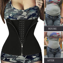 Belt Corset Girdle Shapewear Belly-Control Sweat-Waist-Trainer Abdominal-Trimmer Fat-Burning