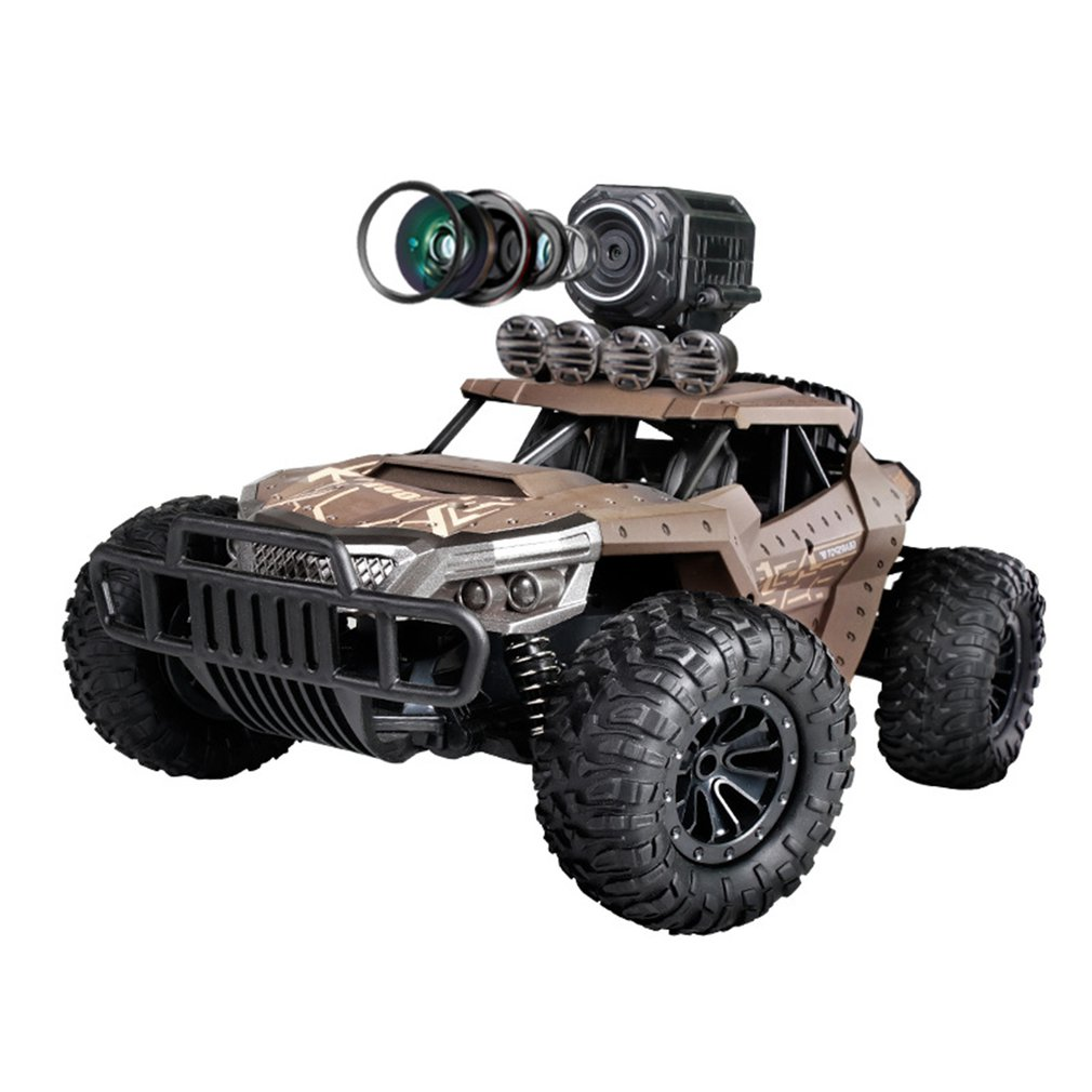 Vehicle - 2.4G Electric 4 Wheel Drive Buggy Rock Crawler RC Car RC Trucks Off-Road Vehicle With 480P Camera