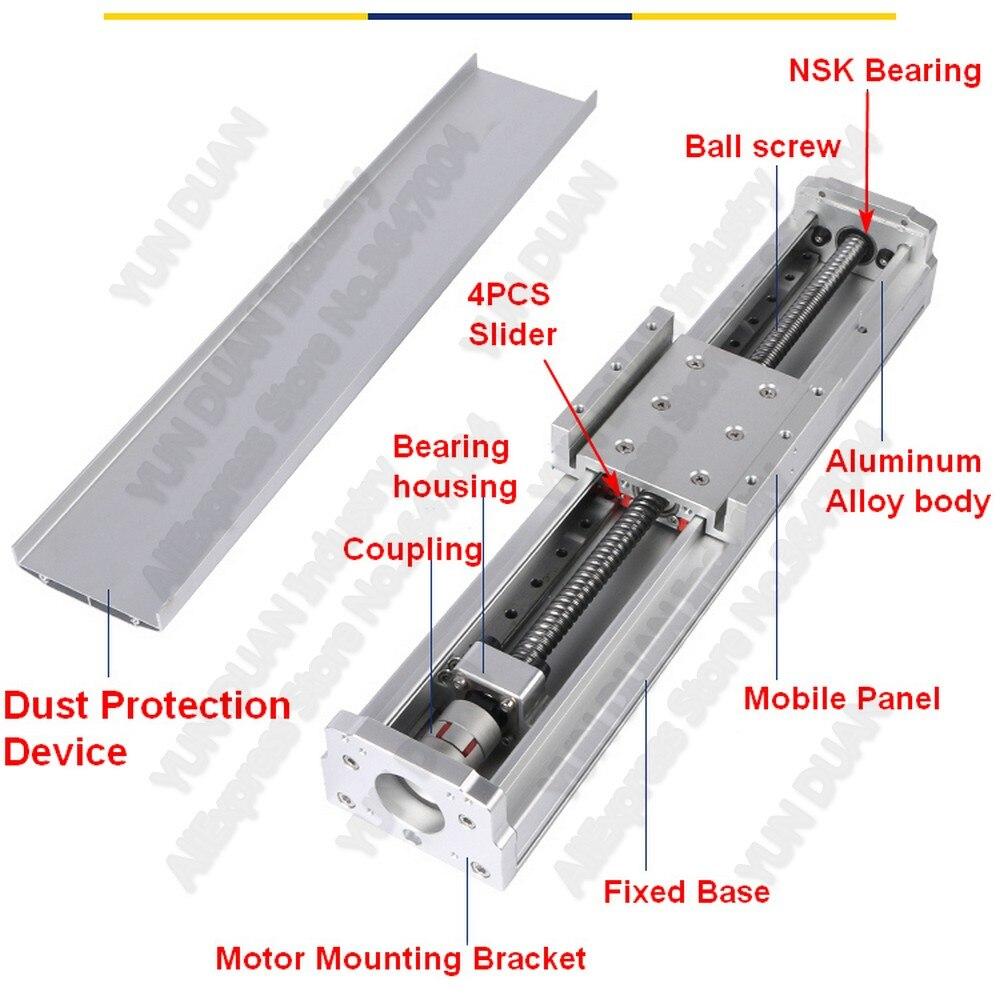 80mm CNC Clamp Motor Bracket Aluminum Alloy Base Holder Support Anti-Rust for 57//60 Stepper Motor Stepper Motor Bracket