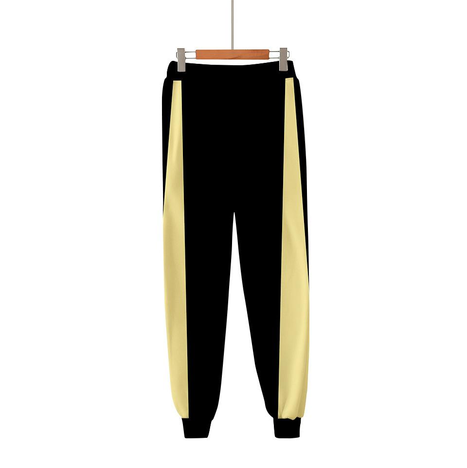 Fistyle Womens Haikyuu Harlan Trousers Anime Shoyo Hinata Pants Fashion Grphic Pants
