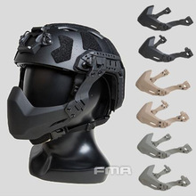 FMA Half Seal Mask For Tactical Gear Helmet Accessories Outdoor Paintball Mask Army Airsoft Helmet Folding Mask Military Helmet