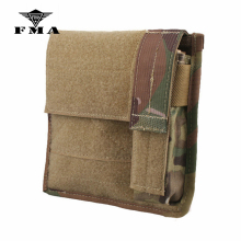 Tactical Pouches Admin FMA Molle-Bags Light-Map Airsoft Hunting for Skirmish
