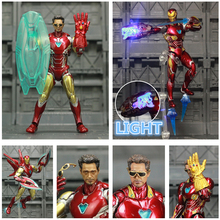 Legends-Toys Action-Figure Avengers Ironman Tony Stark Custom MK85 SHF Mark 85 4-Endgame