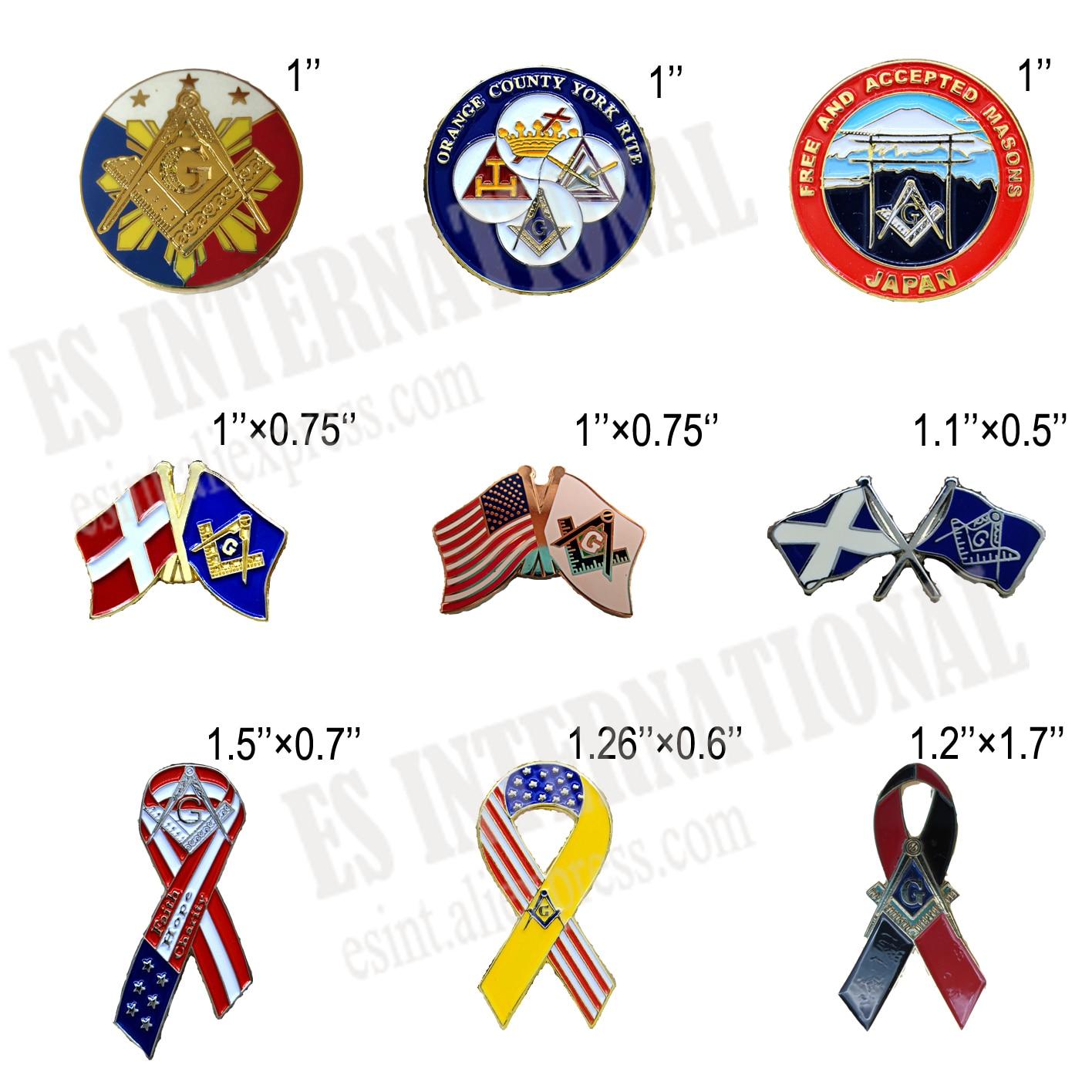 Masonic Scotland Masons Mason Lapel Pin Badge Gift