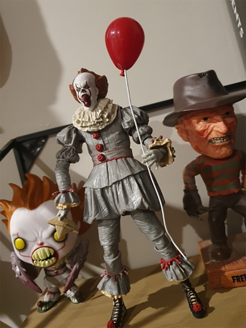 Horror Movie It Character NECA Joker With Balloons Pennywise Action Figure Model Toy for Christmas Halloween Gifts (17)