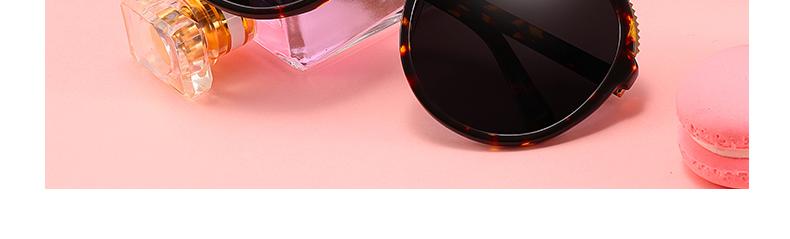 Women Sunglasses Frame Glasses Polariod Lens UV400 Polarized Sunglasses Women Fashion Round Frame Eyewear Glasses (6)
