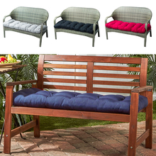 Chair Cushion Pillow Bench-Seat Lounger Furniture Garden 130x50cm Patio Soft Pad