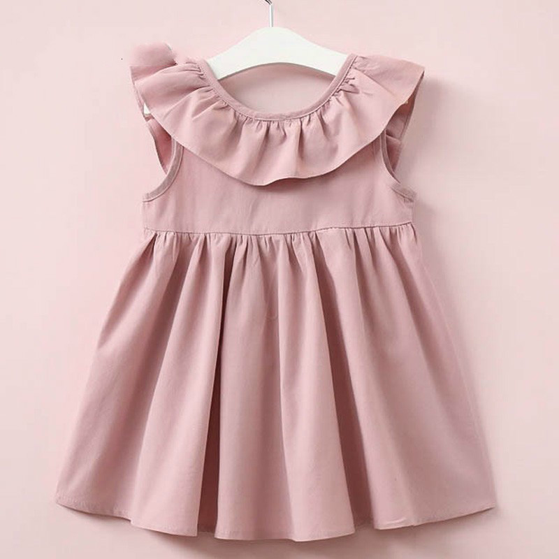Hurave-Summer-2017-New-Casual-Style-Fashion-Fly-Sleeve-Girls-Bow-Dress-Girl-Clothing-For-Children (1)_meitu_1