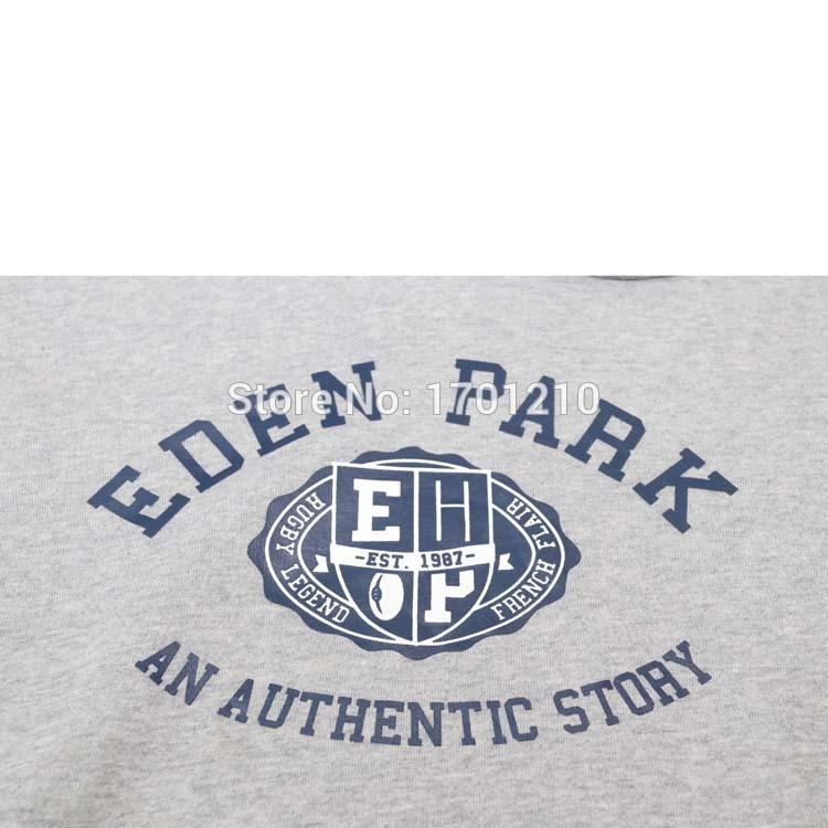 Autumn Winter Men eden park rugby Sportswear Fashion spirit print Hooded Sweatshirts regular fit Casual Streetwear hoodie