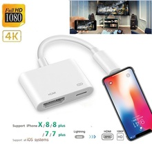 Адаптер 4K 1080P для iPhone X/11/8P/6S/7P/ipad Air product image