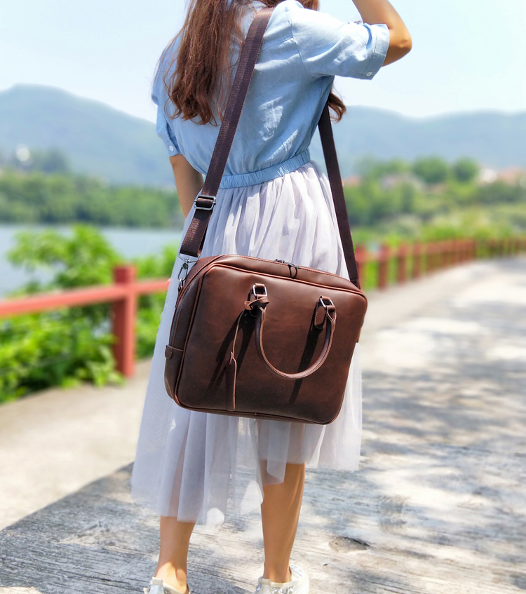 women leather briefcase  (3)