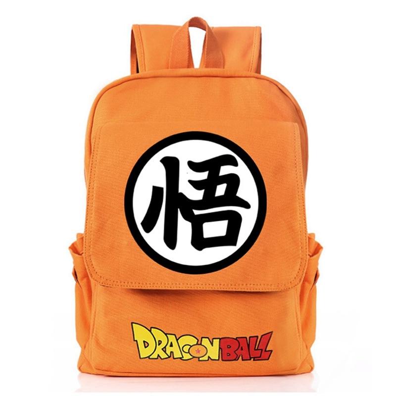 Dragon Ball Z Backpacks School Ba Book Bags Travel Bagpacks Mochila Bolsas Escolar Boy Anime Backpack