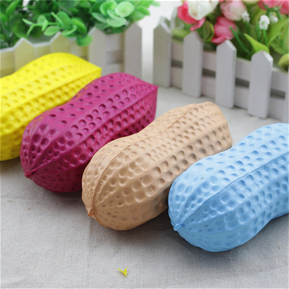 Big Peanut Slow Rising Antistress toy Simulation food toy kids gifts Adult office work decompression toys kids toys #B