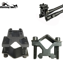 Ring-Mount-Adapter Rifle-Scope Bipod Airsoft Double-Barrel Tactical For Hunting Flashlight