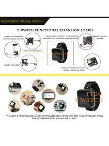 Development-Kit Esp32 Lora T-Watch-Programmable Bluetooth Wifi Touch-Screen Interaction