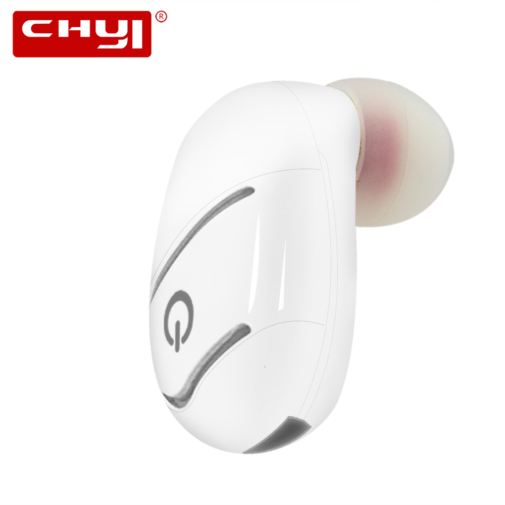 CHYI Mini Compact Mono Bluetooth Wireless Headset Bluetooth Earphone In-ear Sport Handsfree Headset Earbuds For All Mobile Phone