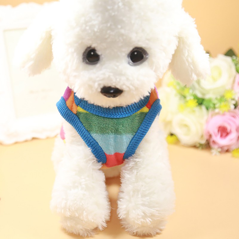 Classics Pet Dog Clothes For Small Dogs Clothing Pet Coat Cartoon Clothes For Dog Sweater Vest Clothes Teddy Chihuahua Jacket (4)