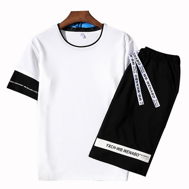 jogging homme t shirt women tracksuit men 4