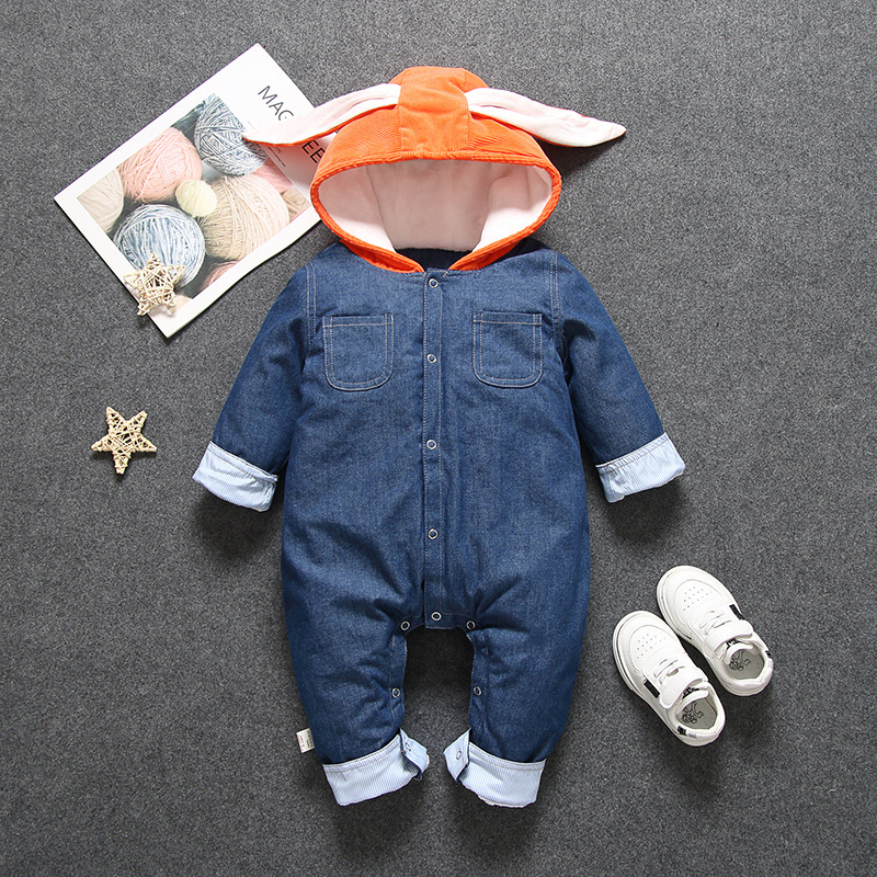 Autumn Winter Newborn Baby Clothes Rompers For Baby Girls Boys Jumpsuit Children Overalls For Baby Kids Costume Infant Clothing