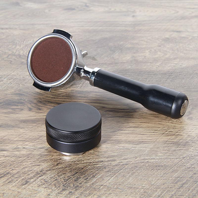 compatible con la m/áquina Dolce Gusto reutilizable recargable Prensa de polvo de acero inoxidable de base plana de 51 mm de di/ámetro