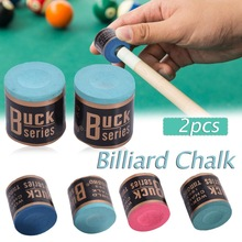 Chalks Snooker-Billiard-Accessories Pool-Cue-Stick 2pcs/Set Easy-Powder HOT Wholesale